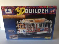 Play-hut 3d Builder - Cable Car Puzzle Brand New