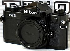 ** NEW  ** NEVER USED ** Nikon FM2N 35mm SLR Black Camera W/ USER MANUAL