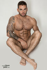 8x12 Young Male Bodybuilder implied nude Art Photo by Claus Pelz