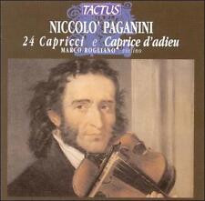Paganini / Rogliano - 24 Caprices [CD New]
