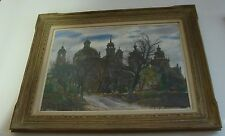 ORIGINAL PAINTING SIGNED LARGE FRAMED EMIL KOZAK