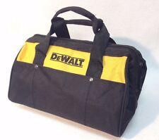 """New DeWalt 12,5"""" x 10"""" x 8"""" Contractors Tool Bag Heavy Duty Nylon"""