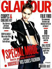 GLAMOUR N°115 OCTOBRE 2013  PSPECIAL MODE/ SPECIAL CHEVEUX/ TESS HELLFEUER
