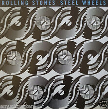 "ROLLING STONES ""STEEL WHEELS"" CANADA PROMO POSTER-Mick Jagger,Keith,Charlie,Ron"