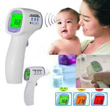 Baby Kid Adult Non-Contact Fever Thermometer Ear Infrared Safety LCD Digital