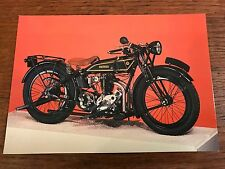 Vintage 1927 500cc Rudge-Whitworth National Motorcycle Museum Postcard (C)