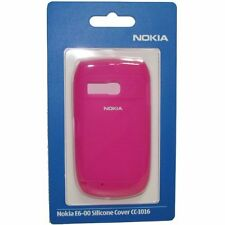 Genuine Nokia E6-00 SILICON CASE CC-1016 - Rosa (02726n3)