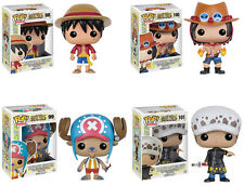 Funko POP! Animation ~ ONE PIECE SET ~ LUFFY, PORTGAS, TRAFALGAR, TONY CHOPPER