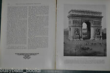 1914 magazine article FRANCE, people, history, etc by Major General A. W. Greely