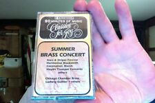 Summer Brass Concert- Chicago Chamber Brass & others- new/sealed cassette tape