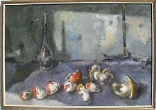 Fred PITTINO (Dogna 1906–Udine 1991) Natura morta con funghi Olio su tela 70x100