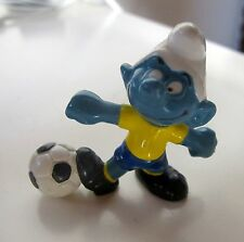 PUFFO PUFFI SMURF SMURFS SCHTROUMPF 2.0068 20068 Football Player Calciatore 7A