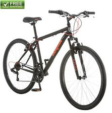 "MONGOOSE MOUNTAIN BIKE 27.5"" MEN'S BLACK FRONT SUSPENSION Sport Bicycle Shimano"