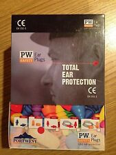 Portwest PU Foam Ear Protection Plugs EN352-2 (EP02) Box of 50