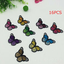 Butterfly Fabric Patches Stickers Clothes Decoration Diy Accessories