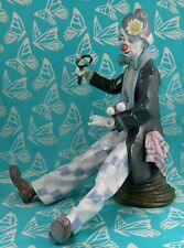 Lladro # 5762 ~ CHECKING THE TIME ~ Clown W/Clock  * MINT*   Buy 1 Get 1 50% Off