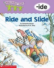 Word Family Tales (-ide: Ride And Slide) Berger, Samantha Paperback