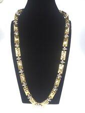 Medusa Halskette Collier 18K echt Gold Gelbgold Weißgold 750er  52,3Gramm NEU