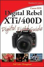 Canon EOS Digital Rebel XTi/400D Digital Field Guide by Lowrie, Charlotte K., Go