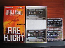 Fire Flight by John J Nance 2005 Cassette Abridged 6 hrs - read by author