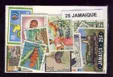 Jamaique - Jamaica 25 timbres différents