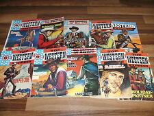 10 x  LARRY LASH  -- Top Western // WILDWEST / WILDER WESTEN aus 1960/1970ern