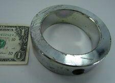 """Large Diameter Steel Shaft Collars 2-15/16"""" ID x 4"""" OD x 1-1/8"""" Wide, Set Screw"""