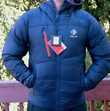 NWT $495 RLX Ralph Lauren HOODED DOWN SKI JACKET Size S AVIATOR NAVY