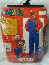 Mens damas Oficial Super Mario Fancy Dress Costume Tamaño Pequeño Adulto-Nintendo