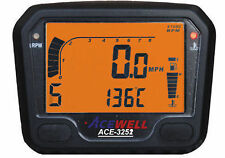 Acewell 3252 Digital Dash Speedo Clocks Kitcar Quad Car
