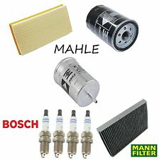 Tune Up KIT Cabin Air Oil Fuel Filters Plugs for Audi TT 2001-2006