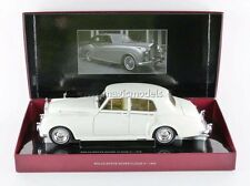 Minichamps 1960 Rolls Royce Silver Cloud II White in 1/18 Scale. New Release!