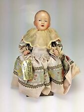Antique Lovely French Celluloid Doll Babig Koant BeBe Joli With Tag All Original