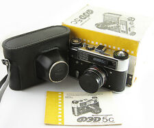 FED 5C Russian Leica Copy Camera Industar-61ld Lens 5S MINT BOX