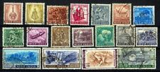 INDIA 1965-Definitive 4th Series-Set of 18-Agriculture-Tourism,Export Promotion