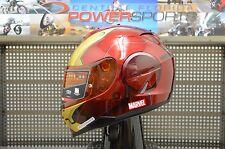 HJC IS-17 Limited Edition MARVEL Iron Man Street Motorcycle Helmet MEDIUM