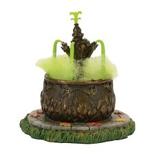 "Dept 56 Halloween ""TOAD FOUNTAIN"" New 2017 FREE SHIPPING"