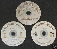 Collection boiseries massive, plus de 1 Go de plans en format PDF, les cd seulement votre jamais besoin