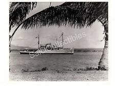 Historic US Navy Ship Safeguard ARS-25 Rescue / Salvage Ship Official Photo 8x10