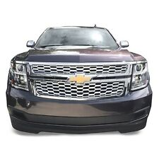 Chrome Grille Overlay (2 Pieces Kit) FITS 2015 2016 Chevy Tahoe Suburban LS LT