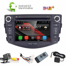 "7"" Android 6.0 Quad Core Car Dvd Gps Radio Player Bt For Toyota RAV4 2006-2012"