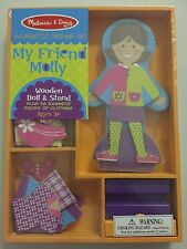 NEW Melissa & Doug Magnetic Dress-Up Doll My Friend Molly NIP