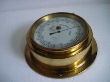 OBSERVER Marine Barometer - BRASS - GERMANY - SHIP'S 100% ORIGINAL