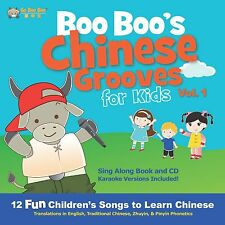 Boo Boo's Chinese Grooves for Kids (CD & Hardcover Book) (Pinyin & Zhuyin)