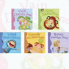 Ever So Series Collection by Julie Fulton 5 Books Set Bossy Jonathan Fossy, New