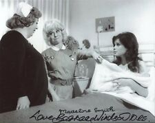 Barbara Windsor and Madeline Smith Signed Photo - Carry On Matron - A232
