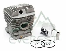NEW STIHL CYLINDER HEAD PISTON KIT MS290 MS390 49mm PISTON PIN RINGS CIRCLIP