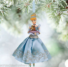 Disney Store Cinderella Sketchbook Ornament Princess Gus Jaq New for 2015