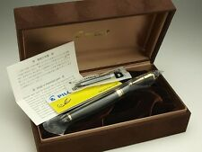 Pilot (NAMIKI) Custom 845 Fine-nib Ebonite Black Urushi Lacquer with converter