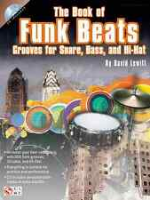 BOOK OF FUNK BEATS (GROOVES FOR SNARE, BASS & HI-HAT) - DRUM BOOK/CD 2500953